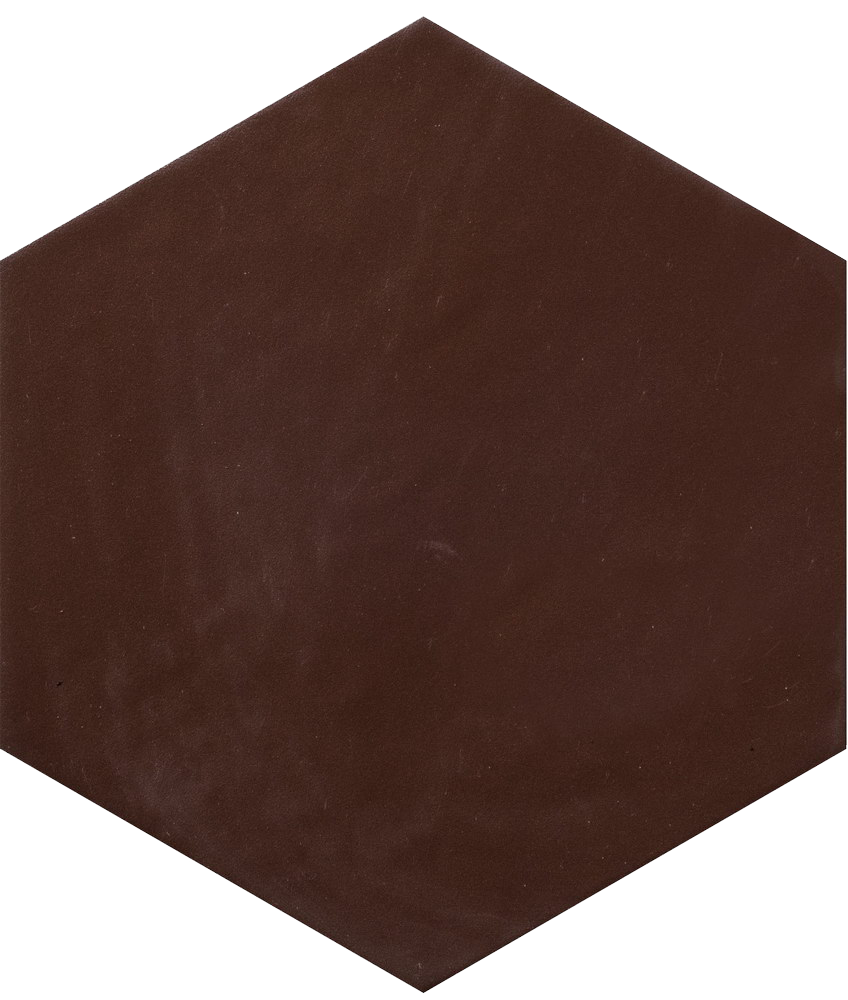 Керамогранит Hexatile Marron Mate 17.5x20