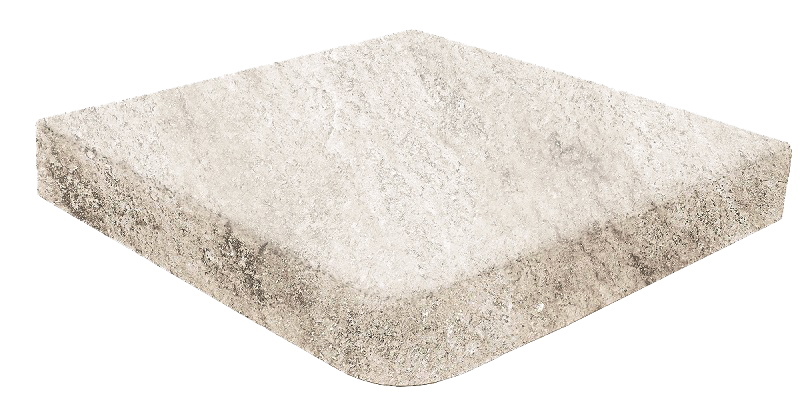 Ступень угловая Evolution Stone White 33x33